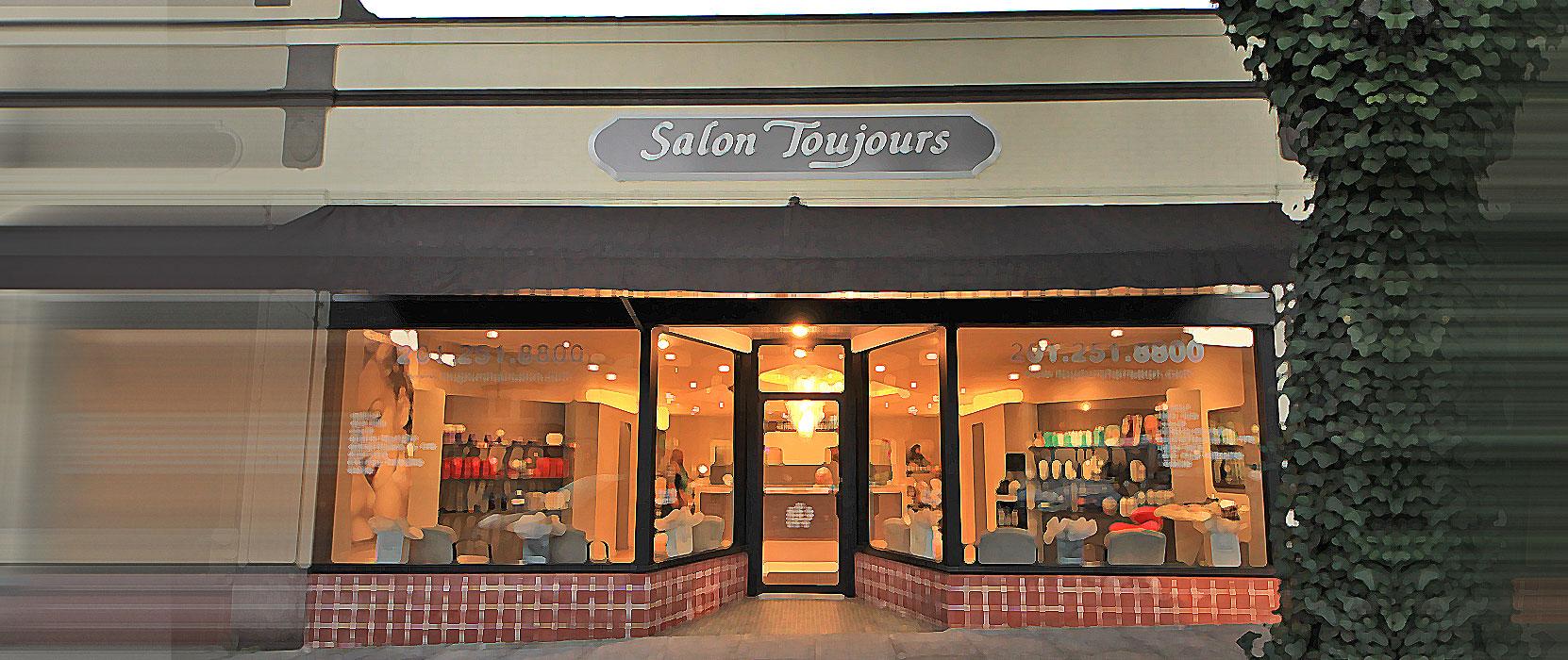 Contact Salon Toujours Hair Stylist Women Men